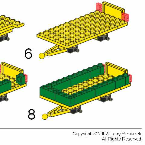 lego john deere tractor instructions
